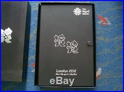 2012 ROYAL MINT LONDON OLYMPICS SILVER PROOF 50p SPORTS COLLECTION COAs FREEPOST