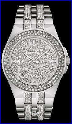 Brand new BULOVA Phantom Swarovski Crystal collection WATCH 96B235