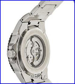 Bulova 98A128 BVA Collection Automatic Black Dial Crystal Bezel & Band 21 Jewel