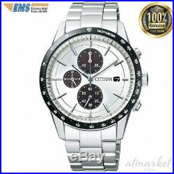 CITIZEN collection of eco-drive metal face chronograph CA0454-56 A men's watch