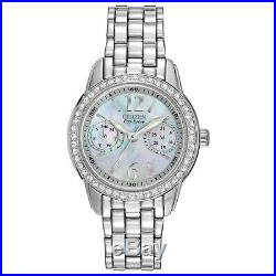 Citizen Eco-drive Fd1030-56y Womens Wristwatch Silhouette Crystal Collection
