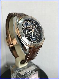 Citizen Mens Moon Phase Flyback Signature Collection Strap Watch AV3006-09E