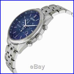 Citizen Sapphire Collection Eco-Drive Chronograph Blue Dial Men's Watch