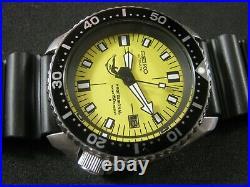 Classic SEIKO 7002-7000 Scuba Diver's Mod DOXA Dial Nice Collection