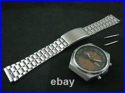 Classic SEIKO TIME SONAR Chronograph 7015-6010 Function and Nice Collection
