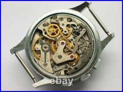 Collectible soviet POLJOT 3017 watch Strela. Pilot's chronograph Air forces