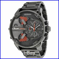 DIESEL DZ7315 Mr. Daddy 2.0 Collection Gunmetal Mens Chronograph Analogue Watch