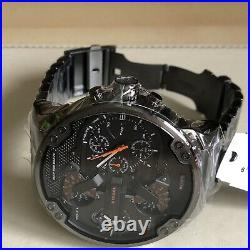 DIESEL DZ7315 Mr Daddy2 Collection Gunmetal Mens Chronograph Watch