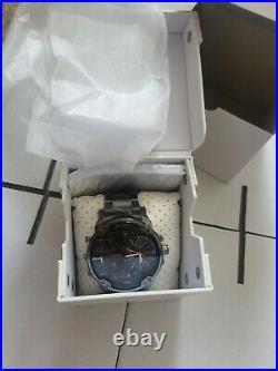 DIESEL DZ7315 Mr Daddy2 Collection Gunmetal Mens Chronograph Watch NEW