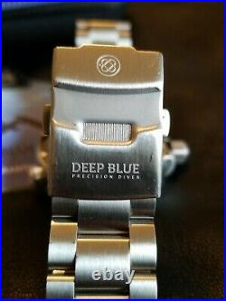 Deep Blue Master 1000 Gen2 44mm Automatic Bracelet Diver Collection