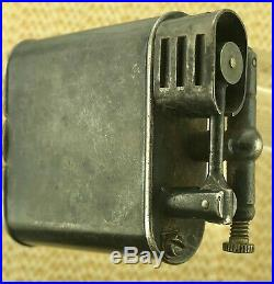 Dunhill Unique Sport Cigarette Lighter Silver Plated Swiss Made 1920s