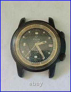 ENICAR Sherpa Ops 600 Watch 144/35/03/ Rare Vintage Key Piece In Your Collection