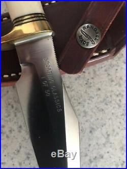 EXTREMELY RARE RANDALL MADE Sporting Classics (1 OF ONLY 50) CUSTOM KNIFE MINT