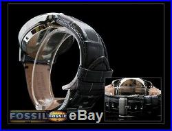 Fossil Men's Twist Luxury Skeleton Collection Gunmetal Watch Me1126