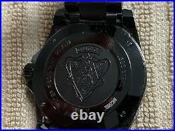 GUCCI Dive Collection 200M 136.2 Quartz Divers All-Black Men's Watch