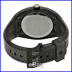 GUCCI Sync XXL 43MM Quartz Gray Dial Rubber Band Men's Watch (YA137111)