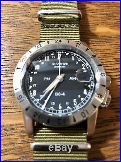 Glycine GL0071 Airman DC-4 With Strap Collection Included
