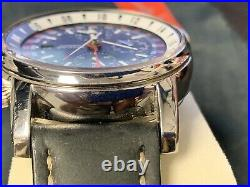 Gorgeous Collectible Glycine Airman Chrono 08 Ref 3876 Limited Edition 500 Only