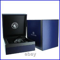 Grand Seiko GMT Sport Collection Steel Blue Dial Quartz Complete Set Ref SBGN005