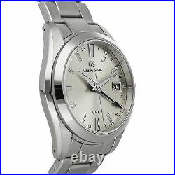Grand Seiko Heritage Collection 9F Quartz GMT 40mm Steel Mens Watch SBGN011
