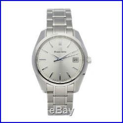Grand Seiko Heritage Collection Quartz 40mm Steel Mens Bracelet Watch SBGV205