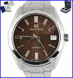 Grand Seiko Heritage SBGR311 Collection Limited Edition Auto Brown Steel 42mm