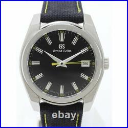 Grand Seiko SBGV243 Sport Collection Steel Quartz 40mm Men's Watch Strap Date With