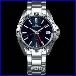 Grand Seiko Sport Collection 9F Quarts GMT 39mm Watch With Blue Dial SBGN005