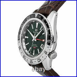 Grand Seiko Sport Collection Hi-Beat 36000 GMT Triple Time Zone Steel SBGJ239