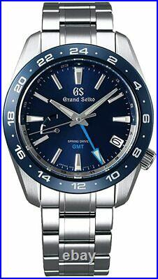 Grand Seiko Sport Collection SBGE255 SPRING DRIVE GMT Ceramics bezel 9R66 Watch