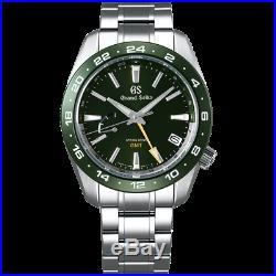 Grand Seiko Sport Collection SBGE257 SPRING DRIVE GMT Ceramics bezel 9R66 Watch