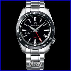 Grand Seiko Sport Collection Spring Drive 40.5 MM GMT SS Watch SBGE253