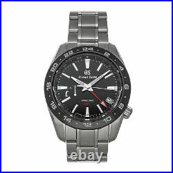 Grand Seiko Sport Collection Spring Drive GMT Steel Auto 40.5mm Mens ASBGE253