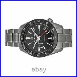 Grand Seiko Sport Collection Spring Drive GMT Steel Auto 40.5mm Mens SBGE253