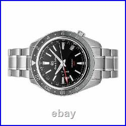 Grand Seiko Sport Collection Spring Drive GMT Steel Auto 44mm Mens Watch SBGE201