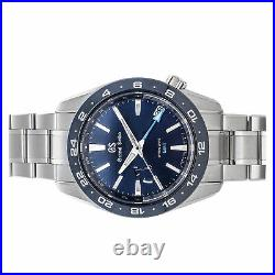 Grand Seiko Sport Collection Spring Drive GMT Steel Mens Watch Date SBGE255