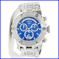 INVICTA 1564 Subaqua Reserve Collection Chronograph Blue Men's Watch NWT RARE