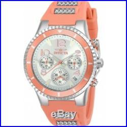Invicta 24190 Blu Collection Quartz Chronograph Silicone Strap Women's Watch