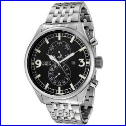 Invicta Men's Watch II Collection Black Dial Stainless Steel Bracelet 0365