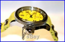 Invicta Mens Russian Diver 4339 Signature Collection Swiss Quartz Yellow Watch