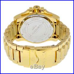 Invicta Reserve Collection Chronograph 18k Gold-Plated Men's Watch 6257
