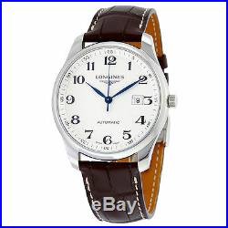 Longines Master Collection Alligator Leather Automatic Mens Watch L28934783