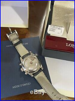 Longines Master Collection Retrograde 44mm L2.717.4 Automatic Mens Watch