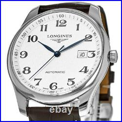 New Longines Master Collection Automatic 42mm Silver Men's Watch L2.893.4.78.3