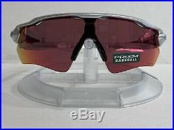 New! Oakley Radar Ev Path Sunglasses MLB Collection Silver Prizm Field OO9208-33