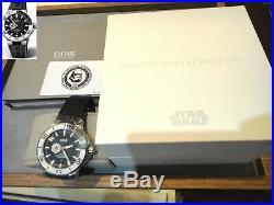 New Oris ProDiver STAR WARS Aquis Stormtrooper Set limited edition Ø49mm rubber