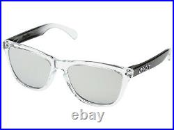 Oakley Frogskins Alpine Collection Sunglasses OO9013-72 Alpine Storm/Chrome