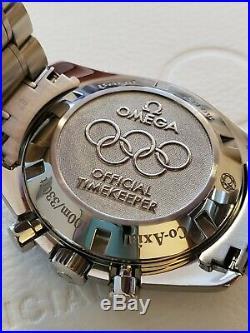 Omega Speedmaster Broad Arrow Olympic Edition