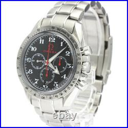 Polished OMEGA Speedmaster Broad Arrow Olympic Collection Watch 3556.50 BF514626