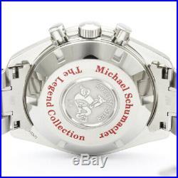 Polished OMEGA Speedmaster Schumacher Legend Collection Watch 3507.51 BF506403